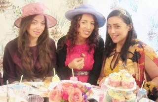 Beautiful Mum to Be at her Baby Shower Tea Party Private Venue