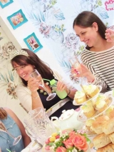 Lemon & Green Baby Shower Tea Party