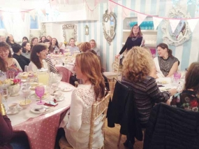 50th Birthday Tea Party - Speeches!