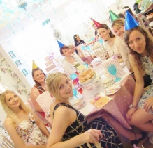 Birthday Girls celebrating at Tea Party Kentish Town