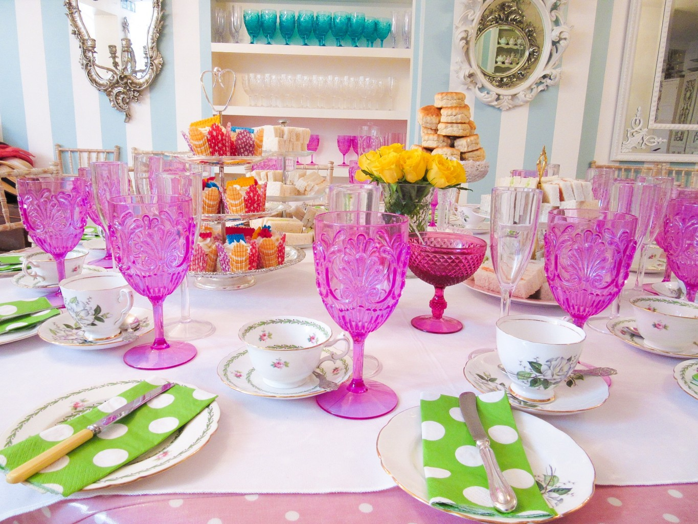 Afternoon tea party looking pretty