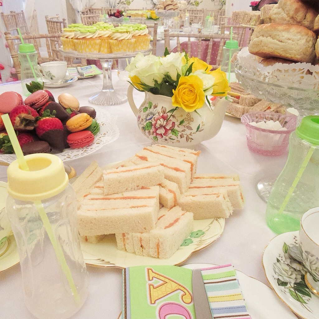 Baby Shower Afternoon Tea Party