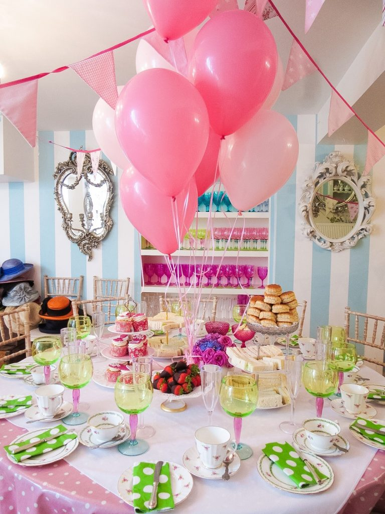 Hen Party Vs Bridal Shower Tea At Our Room In London