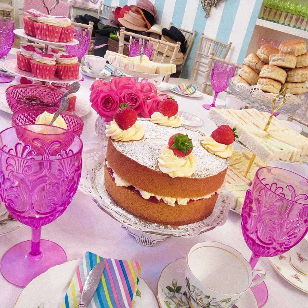 Hen Party Tea Venue London