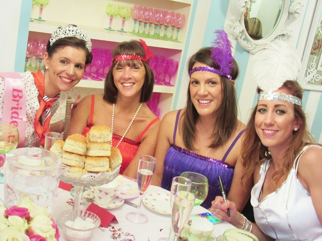 Hen Party Tea Party Private Venue London