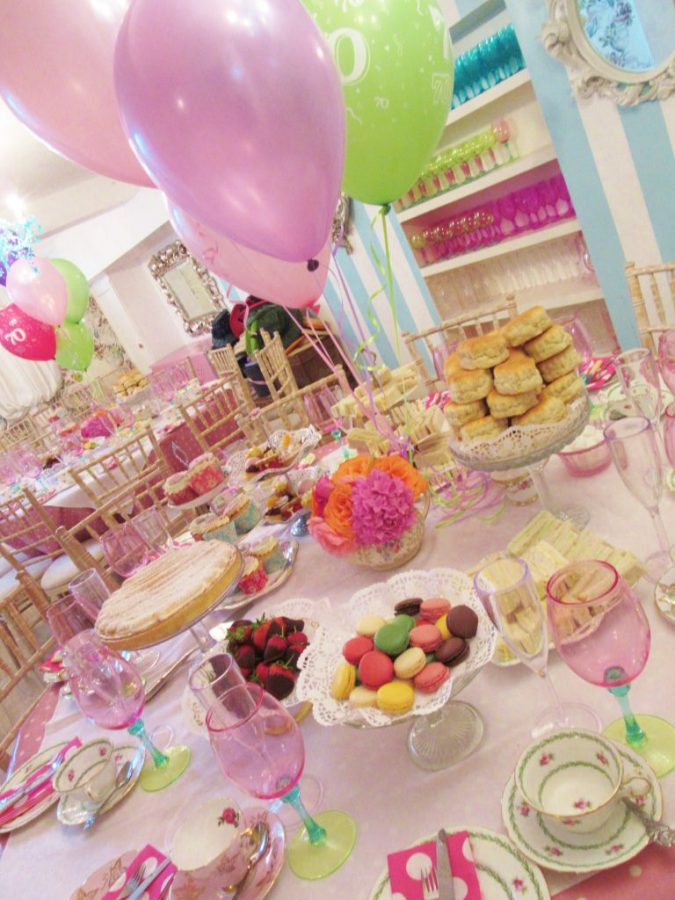 70th Birthday Afternoon Tea Party Kentish Town