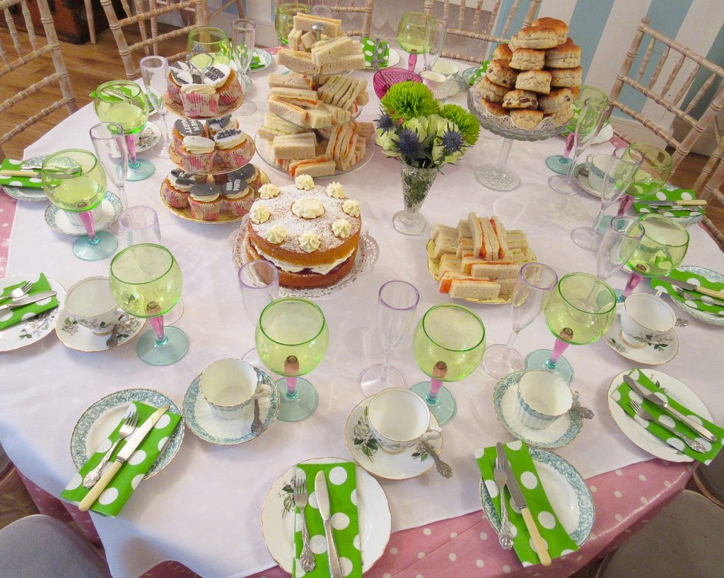 Birthday Afternoon Tea Party Private Venue London