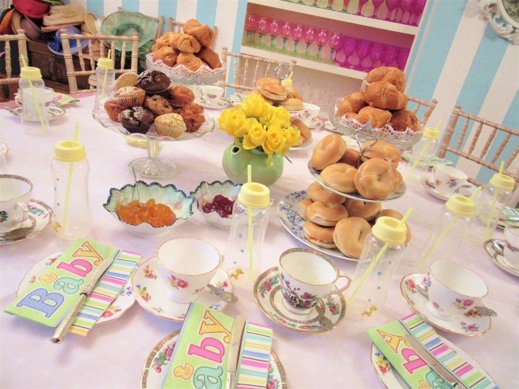 Rise & Shine Brunch Tea Party Baby Shower Tea Room