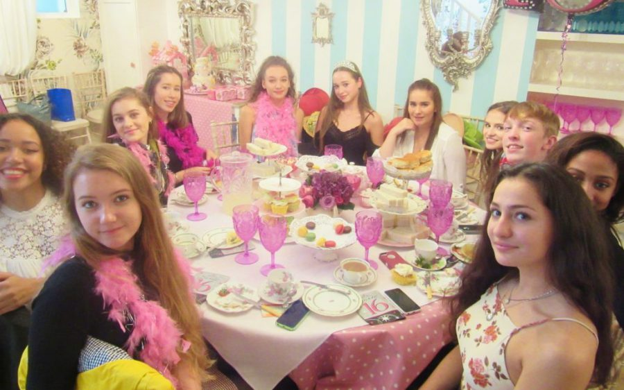 Sweet 16th Birthday Tea Party Girls