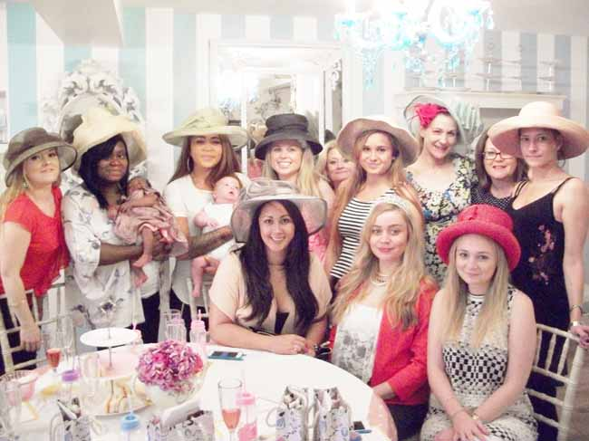 Baby Shower Girls at Tea Party London