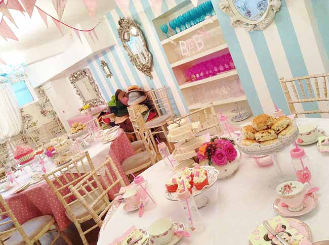 Baby Shower Private Tea Party Venue
