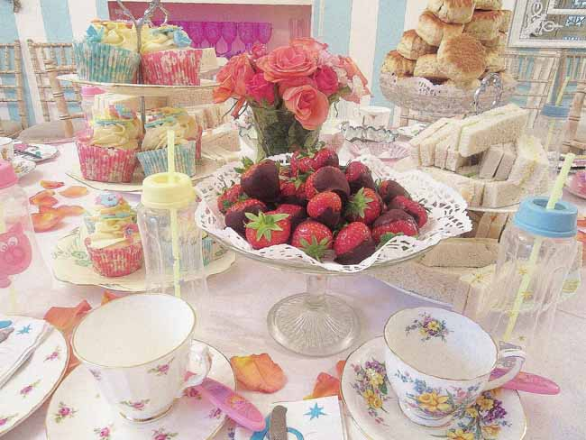 Beautiful Baby Shower Tea Party
