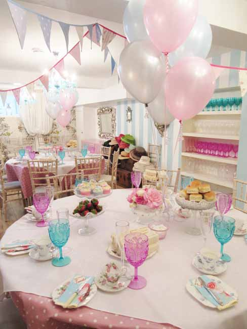 Beautiful Hen Party Tea Party