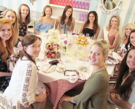 hen party tea party