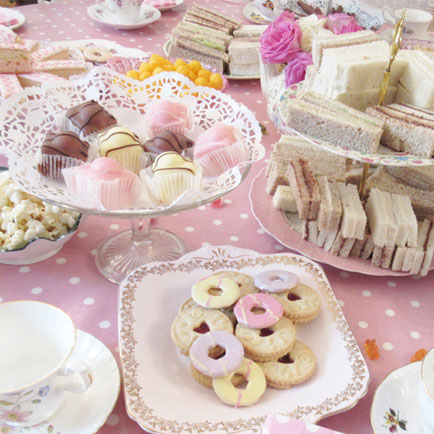 childrens kids tea party